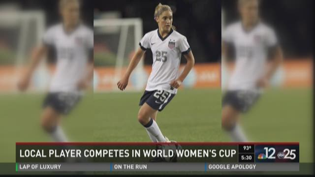 Morgan Brian scores goal for the US Women's National