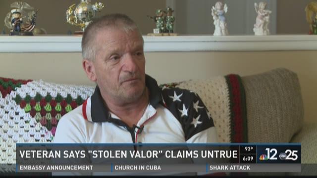 stolen valor untrue