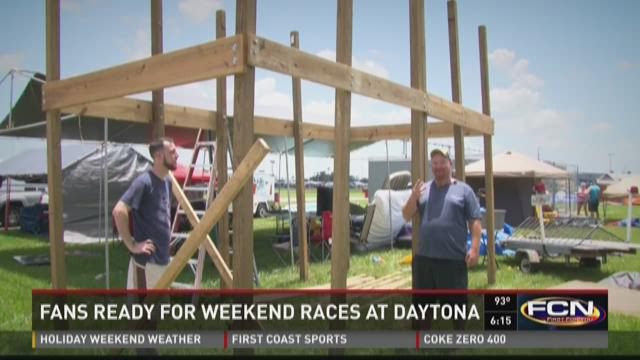 Fans ready for weekend races at Daytona