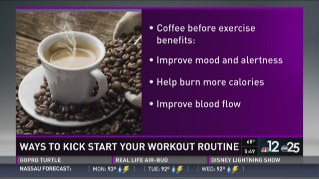 At the Table: Ways to kick start your workout routine