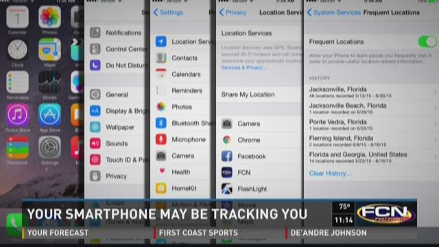 Your smartphone may be tracking you