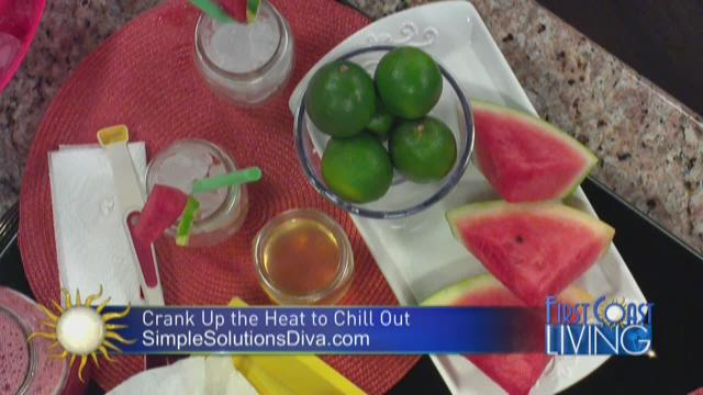 Summer Drinks to Beat the Heat.. with the Simple Solutions Diva!