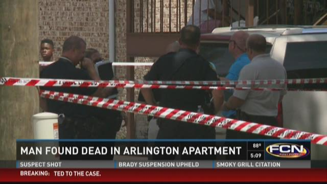 The body was found at Les Chateaux Apartments, located