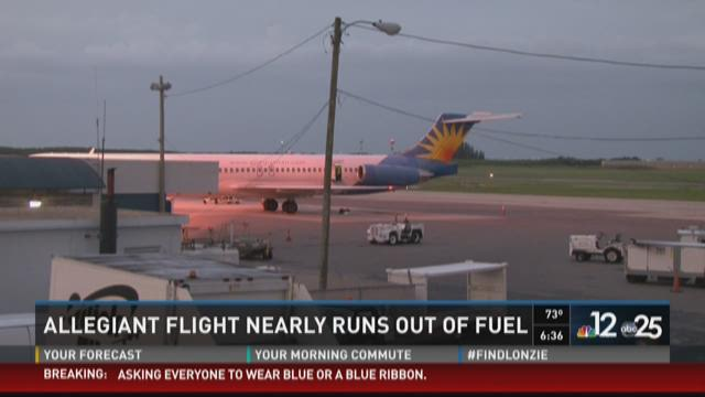 Allegiant confirms their flight last Thursday from Las Vegas to Fargo had to call for an emergency landing because of fuel. There have been recent Allegiant incidents in Florida as well.
