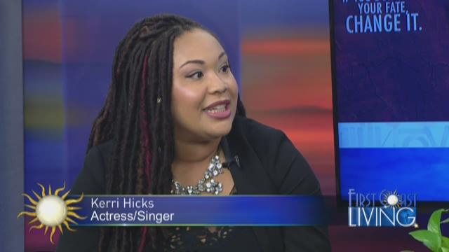 """Actress/Singer Kerri Hicks, starring in """"Aida"""" at Players By The Sea"""
