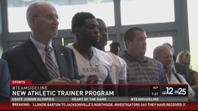 5 schools will benefit from new athletic trainer program