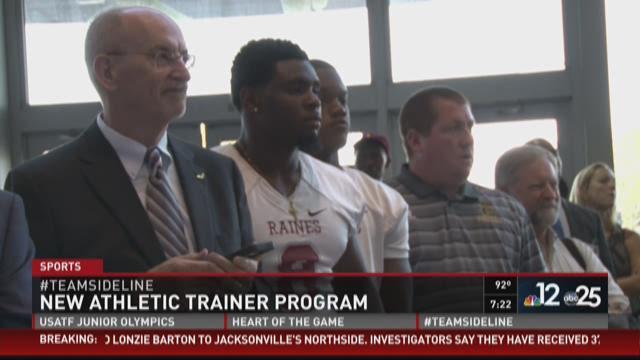 New athletic trainer program