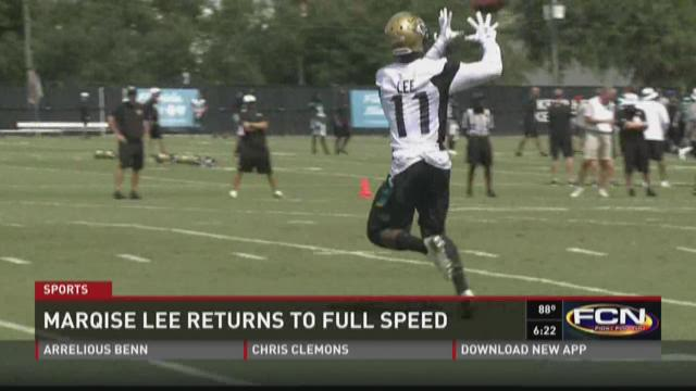 Marqise Lee off to good start at Jaguars training camp