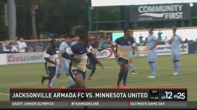 Armada FC tie United FC 3-3