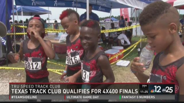 Texas track club qualifies for 4x400 finals