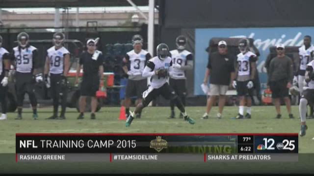 Day 2 of Jaguars Training Camp