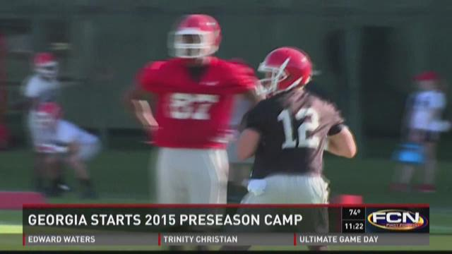 Georgia starts 2015 preseason camp
