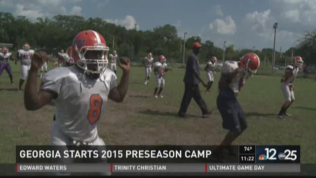Edward Waters kicks off preseason camp