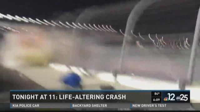 Crash At Daytona International Speedway