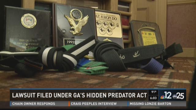 Lawsuit filed under Georgia's Hidden Predator Act against karate master  accused of molestation