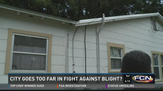 Did city go too far in fight against blight?