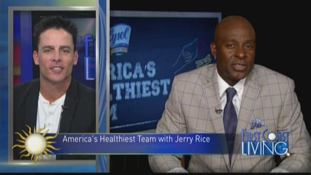 Jerry Rice – Coach of America's Healthiest Team