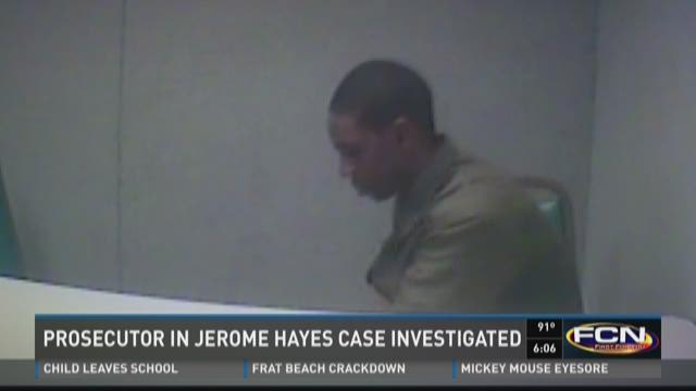 Jerome Hayes spent 589 days in jail before charges