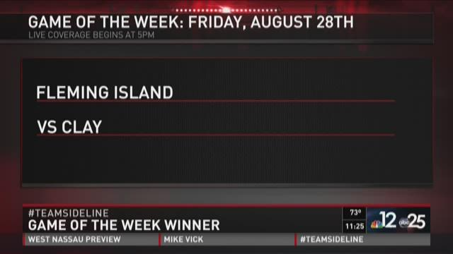 Game of the Week Fleming Island vs Clay