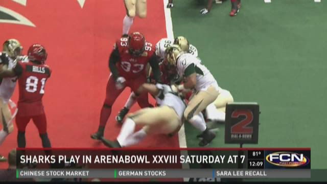 Sharks play in Arena Bowl XXVII Saturday