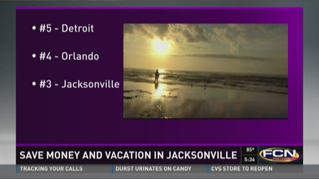 Save money and vacation in Jacksonville