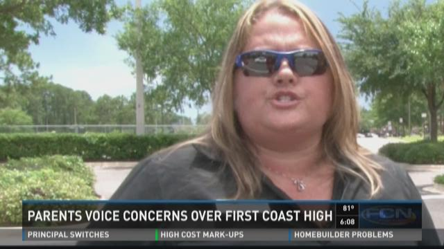 Parents voice concerns over First Coast High