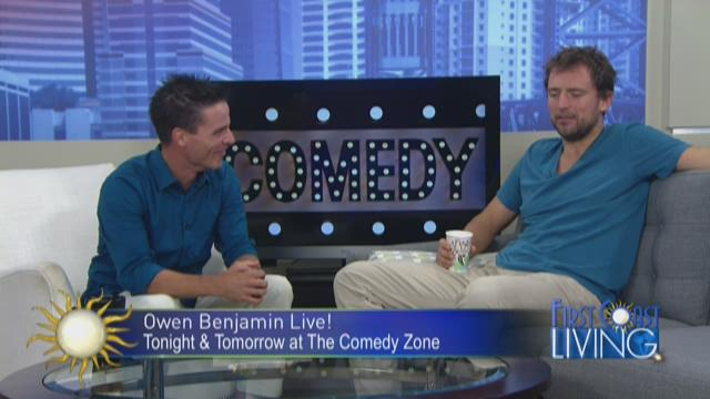 FCL Friday August 28th: Owen Benjamin from The Comedy Zone