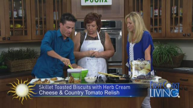 "Friday August 28th:   Chef Jackie Garvin: ""Biscuits"""
