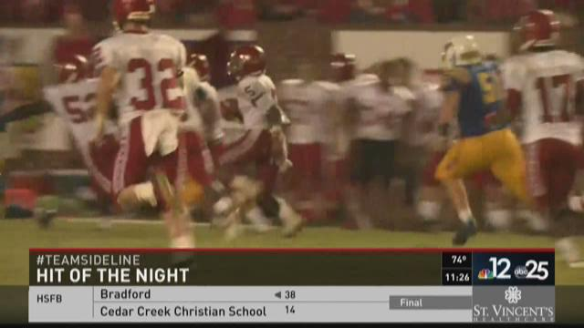 August 28 Play of the Night: Glynn Academy Pick Six