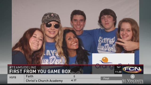 First From You Game Box: Clay vs. Fleming Island