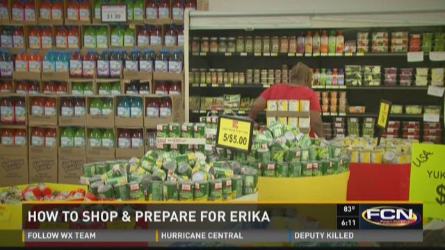 How to shop and prepare for Erika