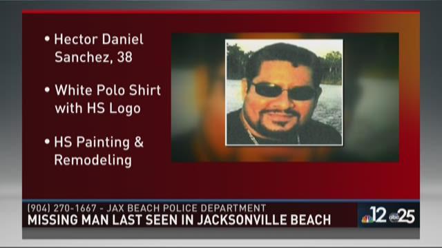 Missing man last seen in Jax Beach