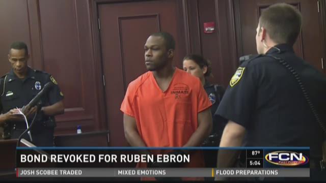 William Ruben Ebron in court Monday