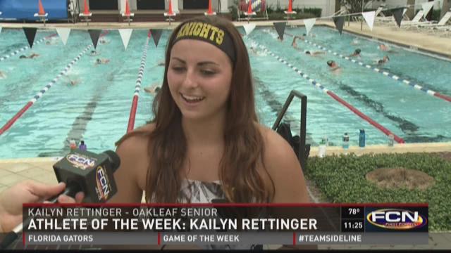 Oakleaf High School senior Kailyn Rettinger