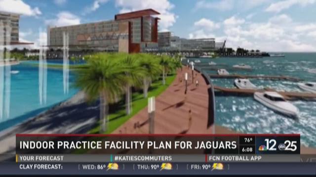 Indoor practice facility plan for Jaguars