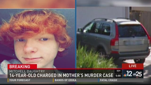 Mitchell Evan Daughtry, 14, of Jacksonville, has been