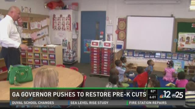 A major push to restore cuts made to Georgia's pre-kindergarten