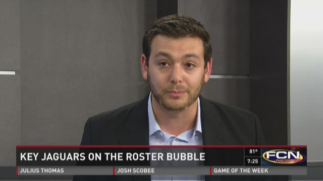 Jaguars beat writer Mike Kaye talks players on the bubble