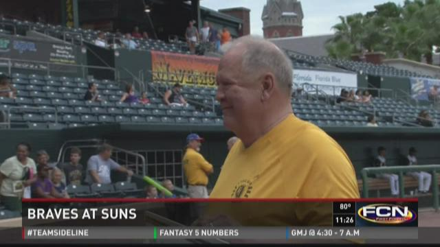 Suns top Braves in extras