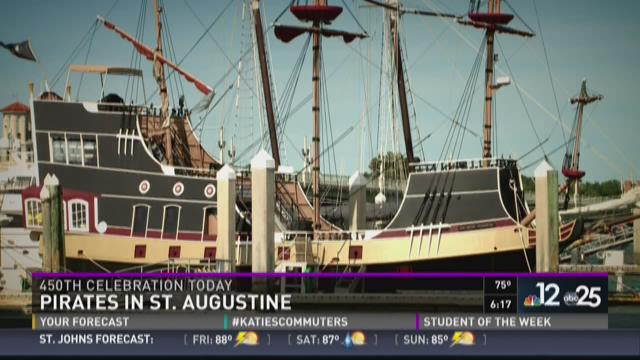 History of pirates in St. Augustine