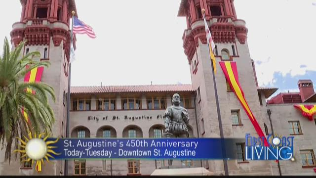Times-Union video columnist Matt Pittman with your weekend scoop, St. Augustine's 450th celebrations included!