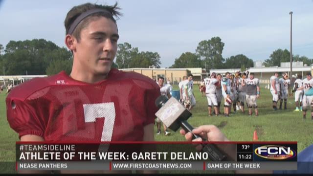 Garett Delano was voted as West Nassau High School's