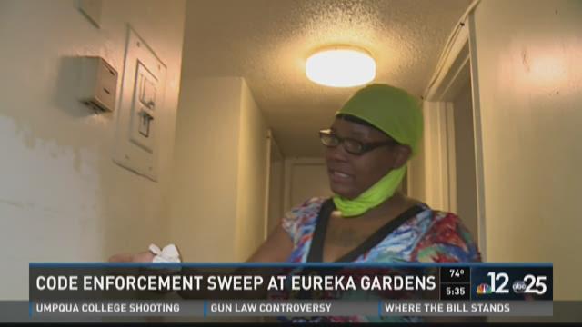 Eureka inspection