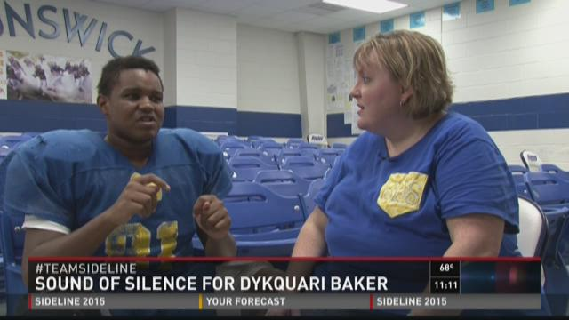 Heart of the Game: Brunswick's Dykquari Baker