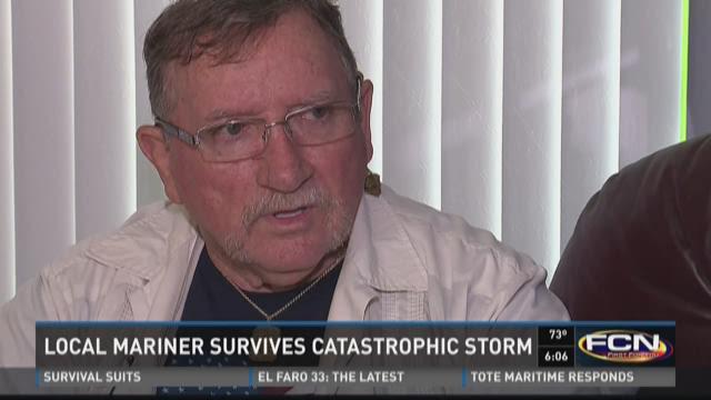Local mariner survived catastrophic storm