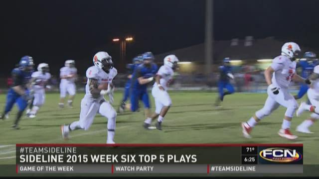 Top 5 plays from Week 6 of Sideline 2015