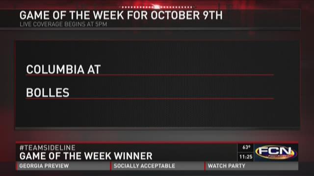 Columbia at Bolles is the Game of the Week