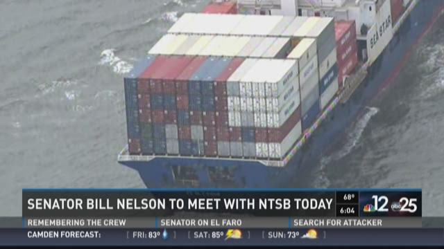 Senator Bill Nelson to meet with NTSB
