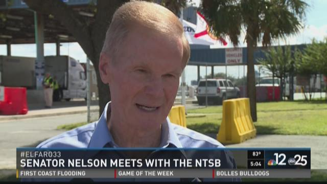Senator Nelson meets with the NTSB