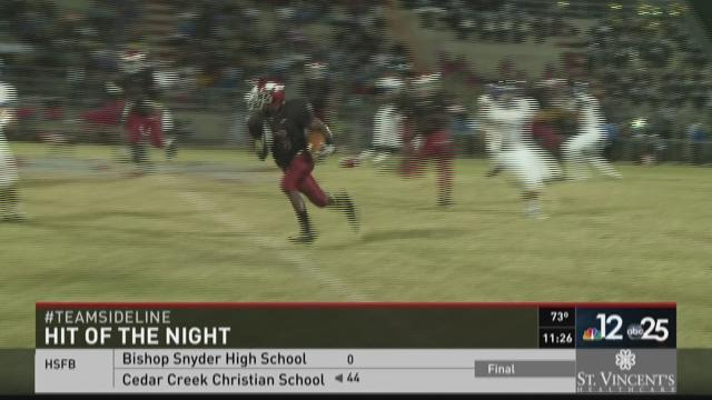 Sideline 2015 Hit of the Night from October 9th